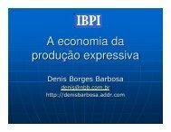 A economia da produção expressiva - Grupo de Estudos de Direito ...