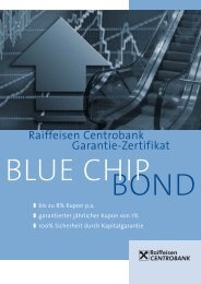 RCB Blue Chip Bond - FONDS professionell