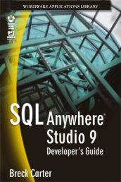 SQL Anywhere® Studio 9 Breck Carter - Open World 360