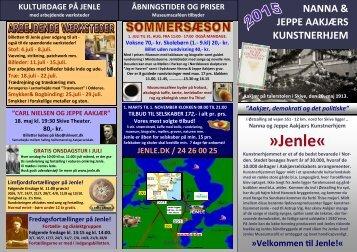 Arrangementsbrochure 2013 - Jenle