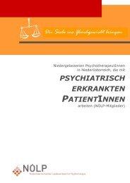 psychiatrisch erkrankten patientinnen