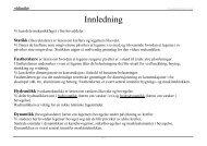 Innledning - Materialteknologi