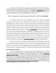 Ibn 'Arabi on the Barzakh - Muhyiddin Ibn Arabi Society