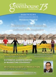 2013cangreenhouseconfernce - Greenhouse Canada