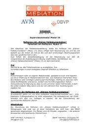 Infoblatt Supervisionsmodul