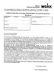 Neues Antragsformular WGKK