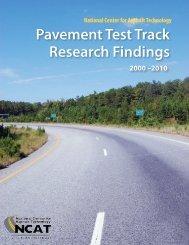 Pavement Test Track Research Findings - Auburn University