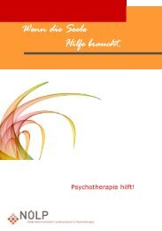 Wenn die Seele Hilfe braucht. - Österreichischer Bundesverband für ...