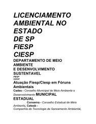 fluxograma do licenciamento ambiental no estado de sp fiesp - ASEC