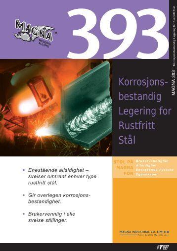 Korrosjons- bestandig Legering for Rustfritt Stål - abema