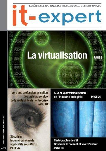 La virtualisation PAGE 8 - IT-expert