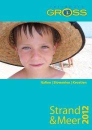 Italien | Slowenien | Kroatien - gross reisen südtirol
