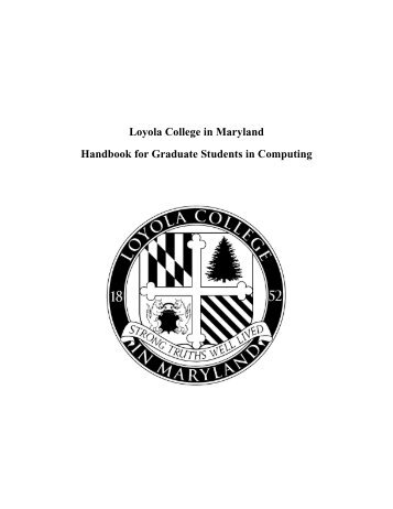 masters and certificate of advanced study - Department of Computer ...