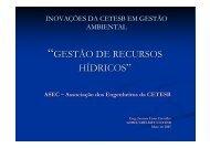 """""""GESTÃO DE RECURSOS HÍDRICOS - ASEC"""