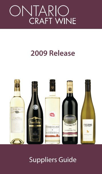 Ontario Craft Wine Guide - Doing Business with LCBO