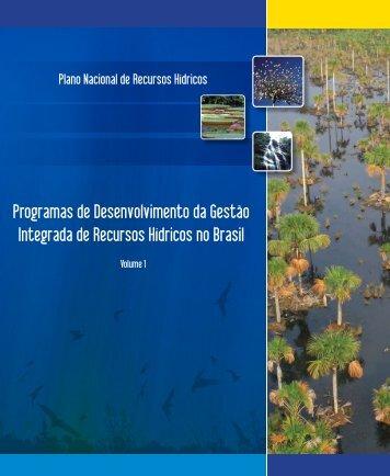 Programas de Desenvolvimento da Gestão Integrada de ... - CNRH
