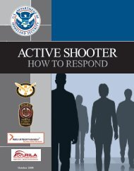 Active Shooter: How to Respond