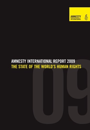 Amnesty International– State of the World's Human Rights - Basic ...