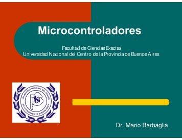 Introducción a los Microcontroladores - Facultad de Ciencias Exactas
