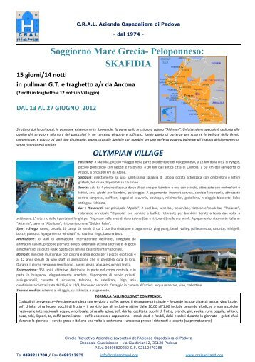 GRECIA E METEORE - CRAL Regione Sicilia