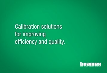Calibration solutions for improving efficiency and ... - iandasolutions.in