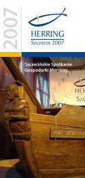 Szczecińskie Spotkanie Gospodarki Morskiej - Herring Szczecin 2012
