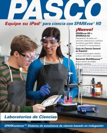 Equipe su iPad® para ciencia con SPARKvue® HD
