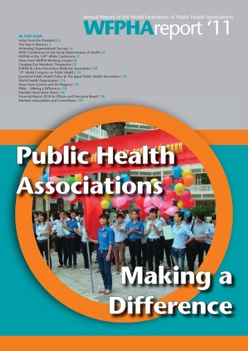 WFPHA Annual Report - Delaware Health Sciences Alliance