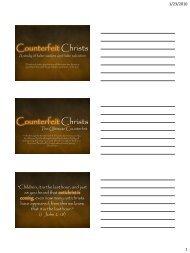 Get the class handout... - Confident Christians