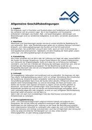 Allgemeine Geschäftsbedingungen - M+O Systems GmbH