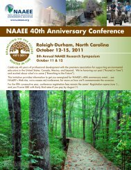 NAAEE 40th Anniversary Conference - North American Association ...