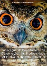 Publicações do Departamento de Conservação da Biodiversidade ...