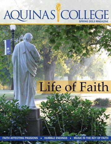 Spring 2013 - Aquinas College