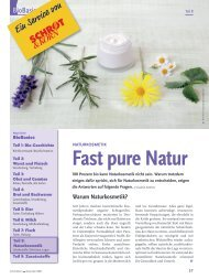 Fast pure Natur