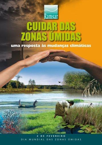 cuidaR das zonas úmidas - Ministério do Meio Ambiente