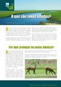cuidaR das zonas úmidas - Ministério do Meio Ambiente - Page 3