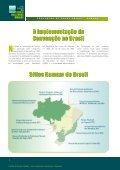 cuidaR das zonas úmidas - Ministério do Meio Ambiente - Page 6