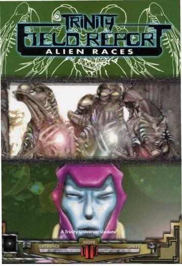 Trinity Field Report Alien Races