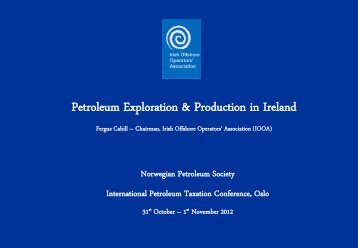 The Irish Petroleum Taxation Regime - NPF