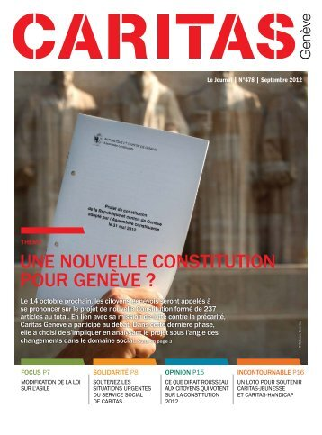 télécharger le journal complet (PDF) - Caritas Genève