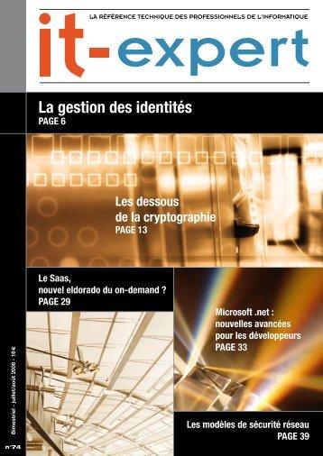 La gestion des identités - IT-expert