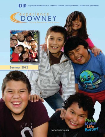 Summer 2012 - City of Downey