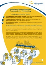 Bringing Grid to Real-time Transaction Processing