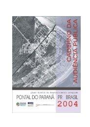 Caderno de Audiência Pública - COLIT - Governo do Paraná
