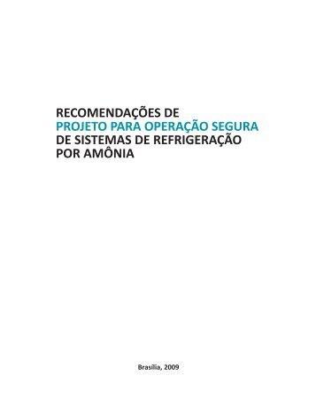 recomendações de projeto para operação segura de sistemas de ...