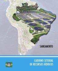 Caderno Setorial de Recursos Hídricos - Saneamento. - Aris