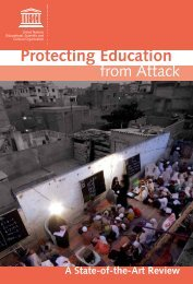 Protecting Education from Attack - Basic Education Coalition