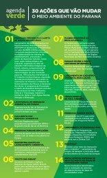 30 ações que Vão mudar - Secretaria do Meio Ambiente e Recursos ...