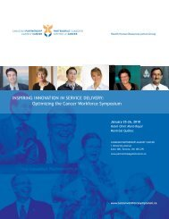 Health Human Resources Action Group - cancerview.ca