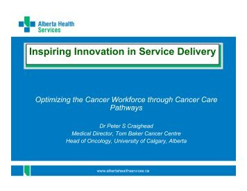 Partnerships - cancerview.ca